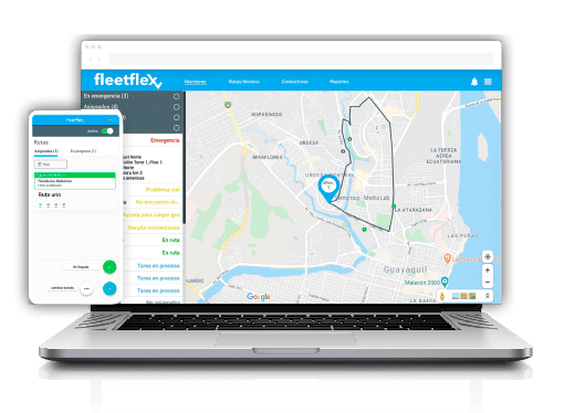 fleetflex app laptop